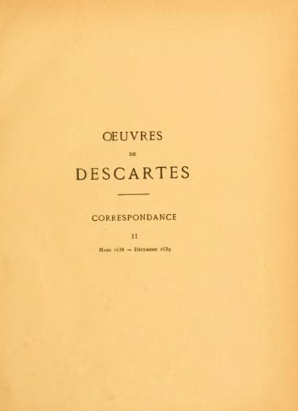 File:Descartes - Œuvres, éd. Adam et Tannery, II.djvu