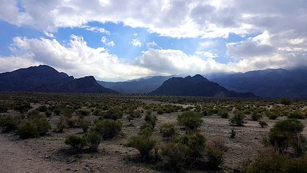 Hiking trails in the undeveloped area of Indian Wells Desert View Indian Wells.jpg