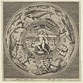 Design for a Plate with Galatea on a Shell Flanked by Trumpeters in a Medallion Bordered by Sea Monsters MET DP837371.jpg