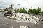 Destruction de l'Aérophare sur le parking du Centre commercial Evry 2 le 20 juin 2015 - 3.jpg