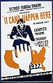 """Detroit Federal Theatre Unit of Michigan Works Progress Administration presents """"It can't happen here"""" by Sinclair Lewis LCCN98513193.jpg"""