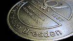 Deutsche Post (DDR) - Ehrenmedaille Arthur Weineck Bezirksdirektion Dresden - Betriebsschule - 1987 - Rückseite.jpg