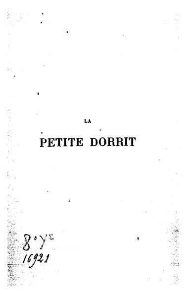 File:Dickens - La Petite Dorrit - Tome 1.djvu
