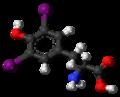 Diiodotyrosine 3D ball.png