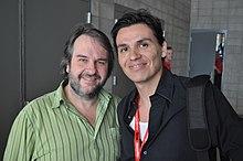 Peter Jackson con Andres Useche nel 2008
