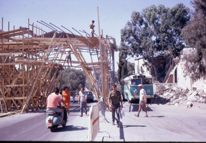 Mandelbaum Gate - Dismantling the Mandelbaum Gate