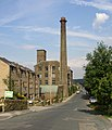 Disused mill, Mill Moor Road, Meltham - geograph.org.uk - 499761.jpg