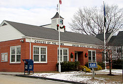 Dixfield town hall and post office