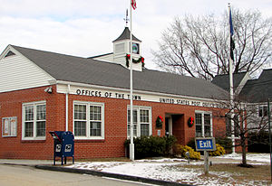 Dixfield, Maine - Dixfield town hall and post office