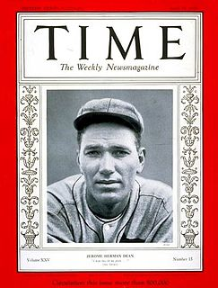 Dizzy Dean American baseball player and coach