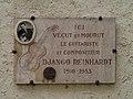Django Reinhardt Plaque Samois.JPG