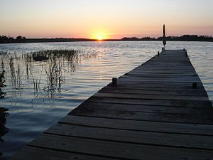 Dock at white lake manitoba.JPG
