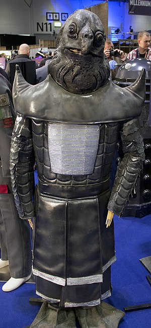 Silurian (Doctor Who) - The Sea Devils, shown at a 50th Anniversary event.