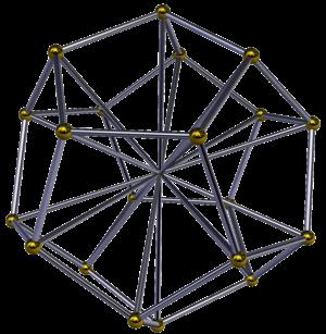 Icosahedral pyramid - Image: Dodecahedral pyramid