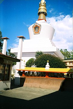 The Dro-dul Chorten Stupa is a famous stupa in Gangtok.