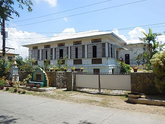 Caoayan - The ancestral house of Don Dimas Querubin, Caoayan, Ilocos Sur's most famous individual.