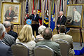 Donald Rumsfeld speaks at portrait dedication ceremony.jpg