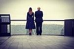 Donald and Melania Trump at the Flight 93 National Memorial.jpg