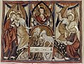 Douce Apocalypse - Bodleian Ms180 - p.080 Marriage of the lamb.jpg