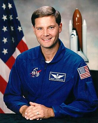 Douglas H. Wheelock - Wheelock's astronaut candidate photo.