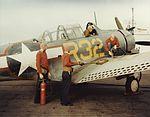 Douglas SBD Dauntless refueling detail in 1943.jpg