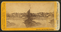 Down river, from Toll Bridge, Skowhegan, by S. S. Vose.png
