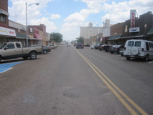 Hereford, Texas - Image: Downtown Hereford, TX IMG 4850