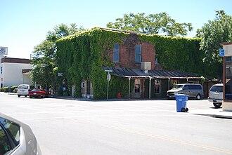 Kelseyville, California - Downtown Kelseyville