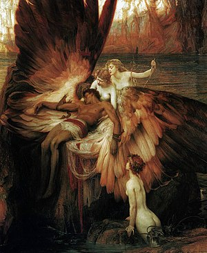 Daedalus - The Lament for Icarus by H. J. Draper (1898)