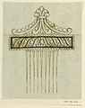 Drawing, Design for a comb, 1810–15 (CH 18560507).jpg