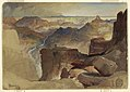 Drawing, View from Powell's Plateau, Grand Canyon, Colorado, 1873 (CH 18189581).jpg