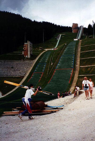 File:Dry ski jump slope, Le Praz, Courchevel.jpg