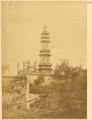 Dubbo Glazed-Tile Pagoda on Wanshou Shan, Summer Palace, Beijing, 1874 WDL2113.png