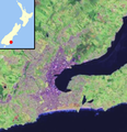 Dunedin, New Zealand location map.PNG
