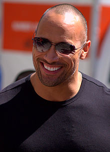 Dwayne The Rock Johnson street Tribeca 2009 portrait.jpg