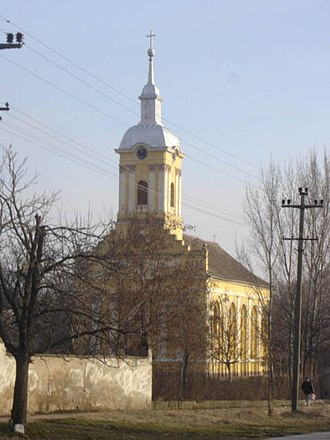 Ečka - Image: Ečka, Romanian Orthodox church