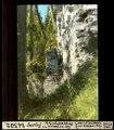 ETH-BIB-Surlej, Felsabspaltung am Hahnensee-Weg-Dia 247-14502.tif