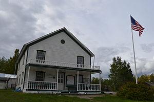 Southeast Fairbanks Census Area, Alaska - Image: Eagle Courthouse