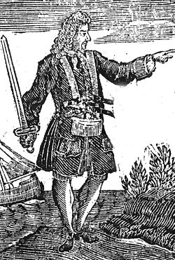 Early 18th century engraving of Charles Vane.jpg