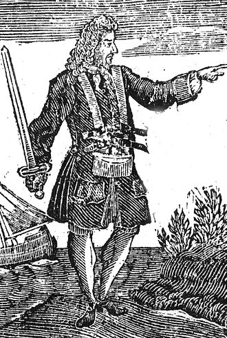 Charles Vane - An early-18th-century engraving of Charles Vane
