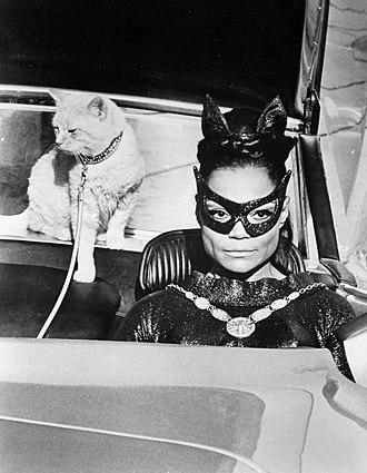 Eartha Kitt - Kitt as Catwoman in the Batman television series, 1967
