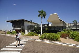 East Kimberley Regional Airport - Image: East Kimberley Regional Airport airside east view