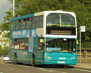 Arriva Midlands - Arriva Derby East Lancs Myllennium Lowlander bodied VDL DB250 in Derby in September 2007