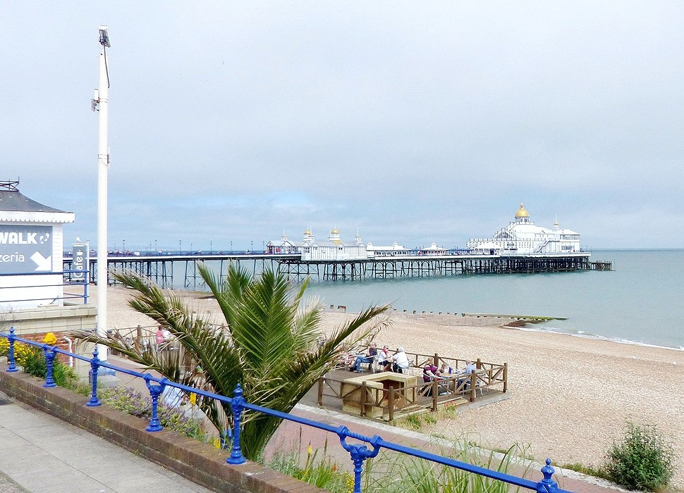 Eastbourne Pier, East Sussex, England 20June2018 arp