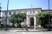 The Wilshire frontage of the Ebell of Los Angeles