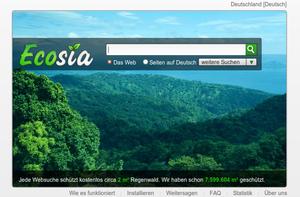 Image of Ecosia: http://dbpedia.org/resource/Ecosia