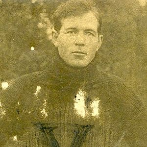 1905 College Football All-Southern Team - Ed Hamilton.