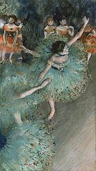 Edgar Degas: Swaying Dancer