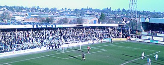 Hereford United F.C. - The Meadow End, February 2007
