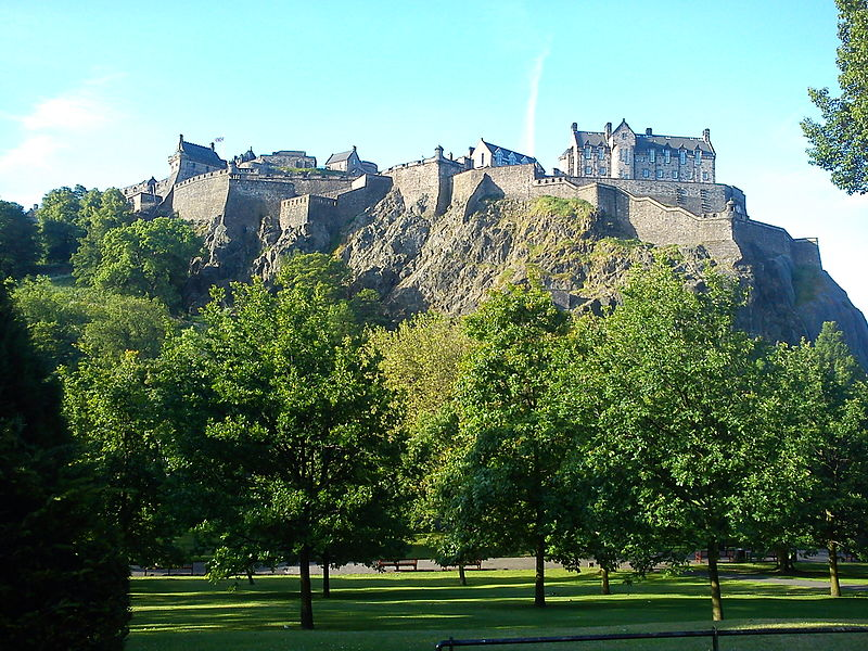 Edinburgh Castle(Creative Commons)
